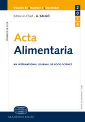 Acta Alimentaria