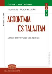 Agrokémia és Talajtan