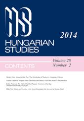 Hungarian Studies