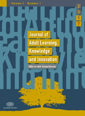 Journal of Adult Learning, Knowledge and Innovation