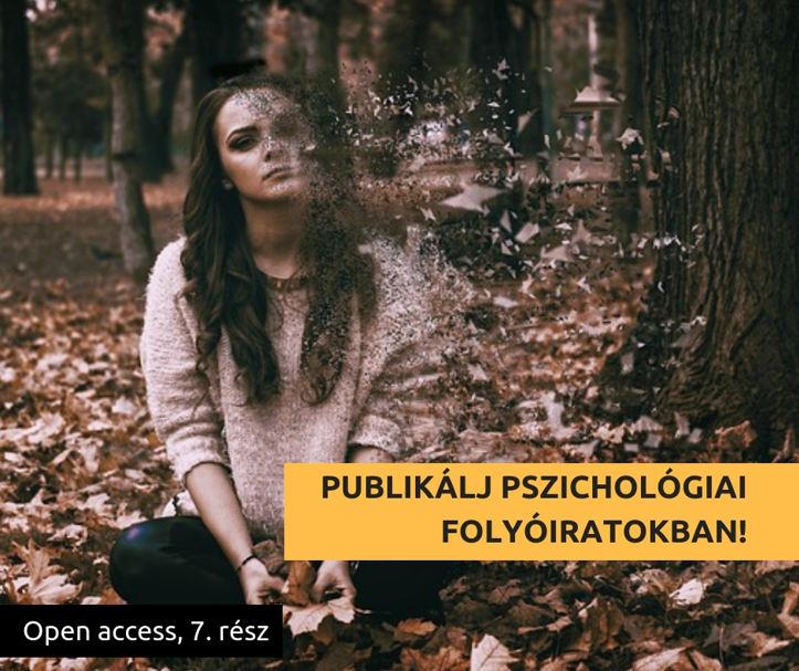 Publikálj open access úton pszichológiai folyóiratokban