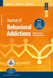 Journal of Behavioral Addictions
